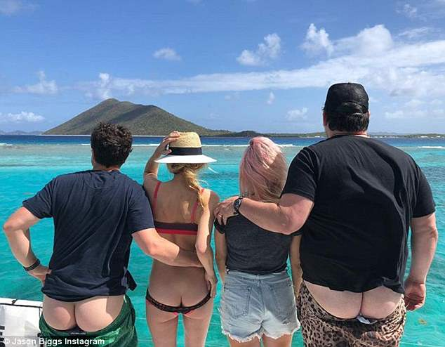 Wife shared on vacation