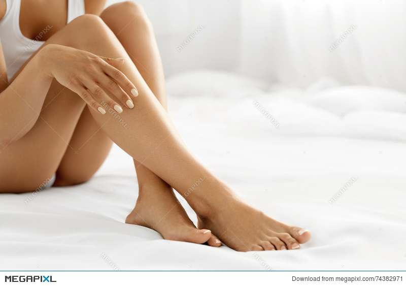 Long legs and soft skin
