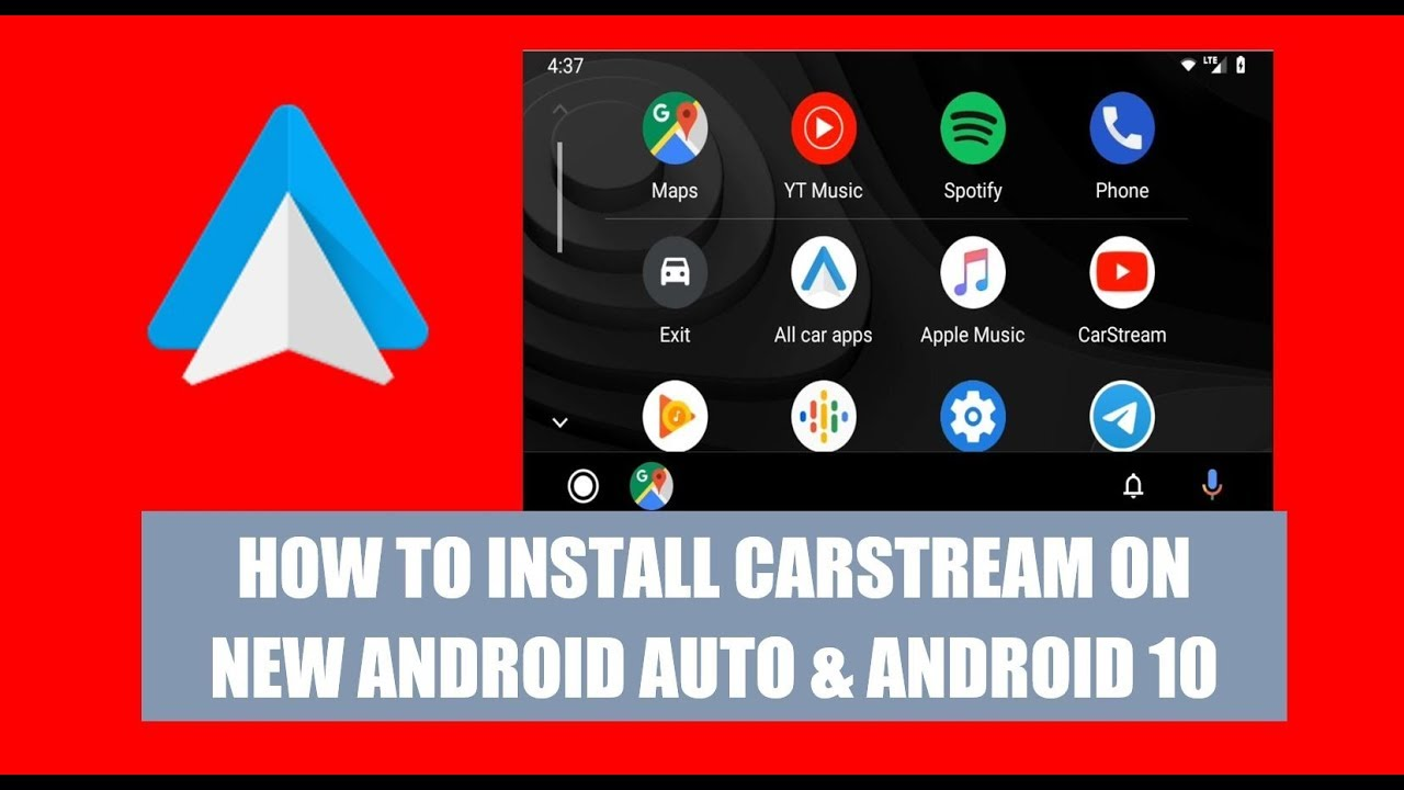 Youtube app for android auto